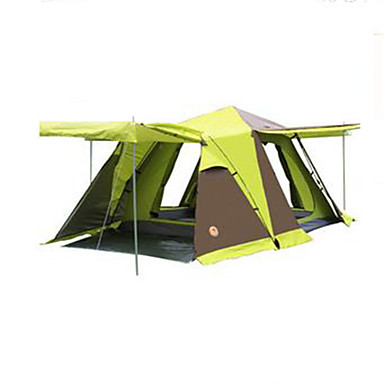 3-4 persons Tent Double Camping Tent Fold Tent Keep Warm Dust Proof for Camping / Hiking Other Material CM