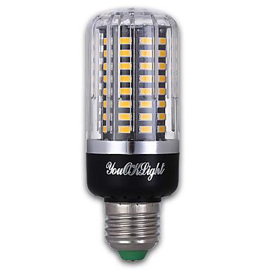 9W E27 LED Corn Lights 100 leds SMD 5736 Warm White 900lm 3000K AC 85-265V