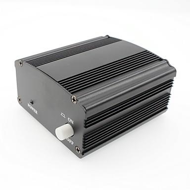 Phantom power 48v tápfeszültség adapter 3m audio xlr kábel kondenzátor mikrofon stúdió zene hangfelvevő berendezések