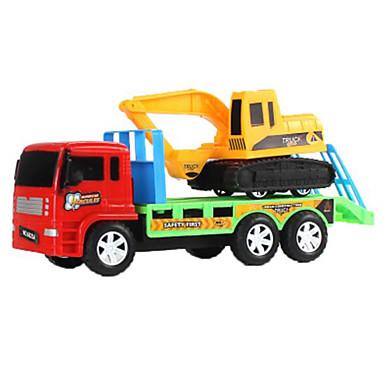 Carros de Brinquedo Brinquedos Carrinho de Fricção Motocicletas Buldôzeres Escavadeiras Brinquedos Rectângular Maquina de Escavar Ferro