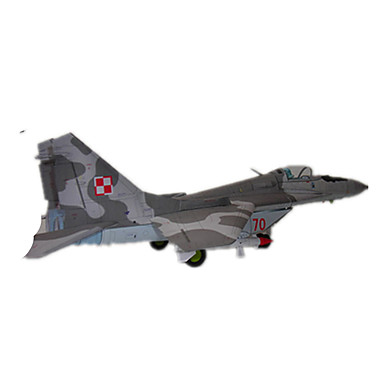 3D-puslespill Papirmodell Modellsett Luftkraft Faiter Hardt Kortpapir Barne Gutt Unisex Gave