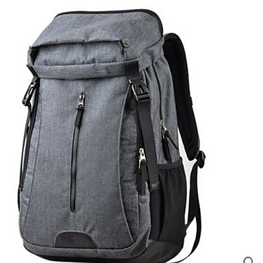 Men Bags All Seasons Polyester ABS+PC Shoulder Bag for Casual Outdoor Black Gray