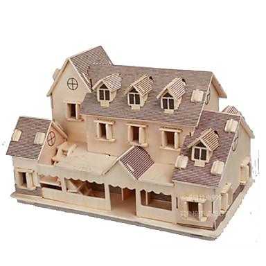 voordelige 3D-puzzels-3D-puzzels Modelbouwsets Dome Beroemd gebouw Huis DHZ Tiener Volwassenen Meisjes Speeltjes Geschenk