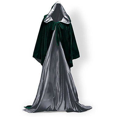 Wizard Coat Cosplay Costume Cloak Witch Broom Halloween Props Party Costume Masquerade Unisex Christmas Halloween Carnival Children's Day