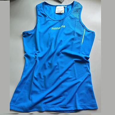 Herre Singlet til jogging Fitness, Løping & Yoga Genser Topper til Løper Trening & Fitness Himmelblå