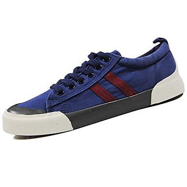 Men's Shoes PU Spring Fall Comfort Sneakers for Outdoor Black Gray Navy Blue Burgundy