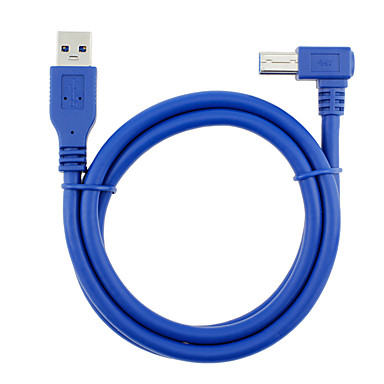 USB 3.0 Kaapeli, USB 3.0 to USB 3.0 tyyppi B Kaapeli Uros - Uros 5.0m (16ft)