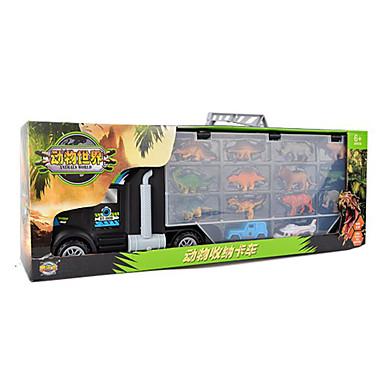 Carros de Brinquedo Garagem para Carrinhos Brinquedos Motocicletas Brinquedos Animais Rectângular Dinossauro Aeronave Ferro Peças Unisexo