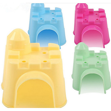 Rodents Hamster Silicone Beds Yellow Green Blue Pink