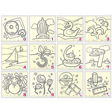 voordelige tekening Speeltjes-Kunst & Tekenspeelgoed Vierkant Verf DHZ Klassiek Kinderen