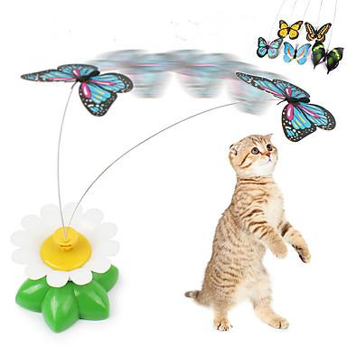 Macskajátékok Pillangó Műanyag Kompatibilitás Cica Kiscica
