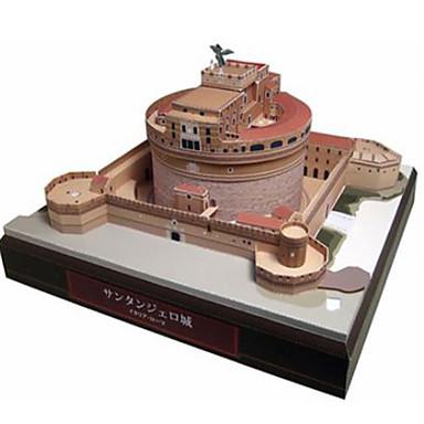 3D palapeli Paperimalli Pienoismallisetit Neliö Linna Kuuluisa rakennus Arkkitehtuuri DIY Kova kartonki Klassinen Poikien Unisex Lahja
