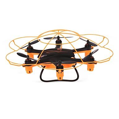 RC Drone WLtoys Q383 4CH 6 Eixos 2.4G Com Câmera HD 720P Quadcópero com CR FPV / Luzes LED / Auto-Decolagem Quadcóptero RC / Controle Remoto / Manual Do Usuário / Modo Espelho Inteligente