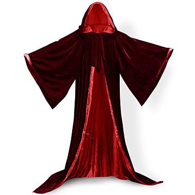 Trollmann Jakke Cosplay Kostumer Kappe Heksekost Halloween Utstyr Party-kostyme Maskerade Unisex Jul Halloween Karneval Barnas Dag Nytt År