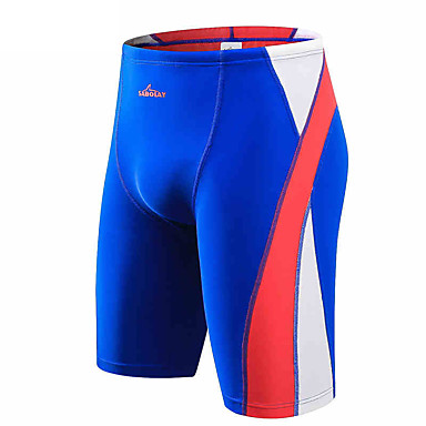 New Men's 5 Points Swimming Trunks Sunscreen Anti-Ultraviolet Diving Pants To Increase The Size Of Swimming Trousers Surf Pants