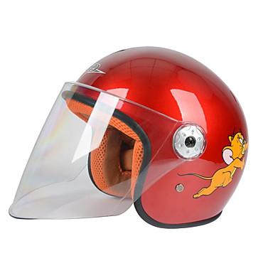 BLD 506  Motorcycle Helmet Men And Women Baby Half Helmet Children Cartoon Four Seasons General Helmet