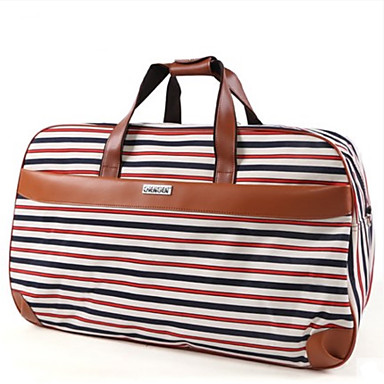 Unisex Bags All Seasons Oxford Cloth Travel Bag for Casual Outdoor Black Cyan Red black Black/White