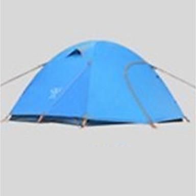 3-4 Personen Zelt Doppel Camping Zelt Einzimmer Falt-Zelt Wasserdicht Rasche Trocknung Regendicht Klappbar Zelt für Camping & Wandern