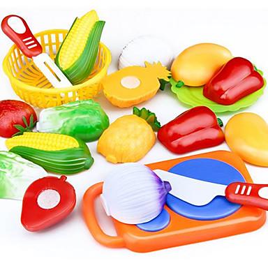 Carros de Brinquedo Comida de Brinquedo Brinquedos de Faz de Conta Brinquedos Vegetais Cortadores de Frutas e Vegetais Frutas e Vegetais