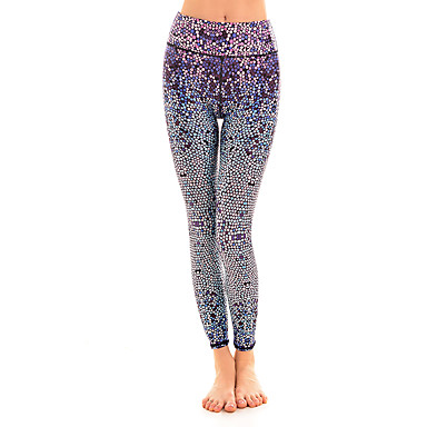 Dame Tights til jogging Treningstights Fitness, Løping & Yoga Tights Bunner til Yoga & Danse Sko Løper Avslappet Trening & Fitness Bomull