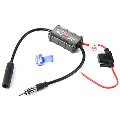 kjøretøyer bilradioen fm antenne signal forsterker booster for både AM og FM radiostasjoner.