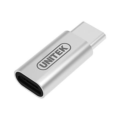 Unitek USB 3.0 Tipo C Adaptador, USB 3.0 Tipo C to Micro USB 3.0 Adaptador Macho-Fêmea
