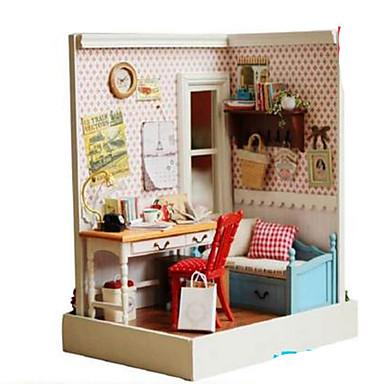 Model Building Kit DIY Famous buildings House Plastics Classic Pieces Unisex Gift