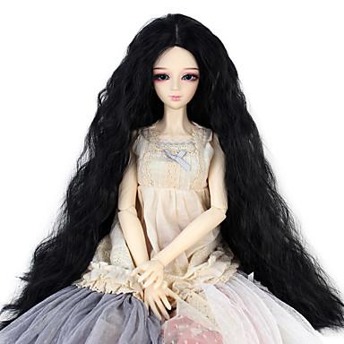Perucas sintéticas Kinky Curly Densidade Mulheres boneca peruca Cabelo Sintético