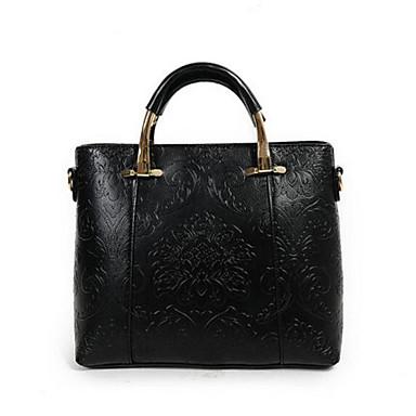 Women Bags All Seasons PU Shoulder Bag for Casual Outdoor Black Blushing Pink