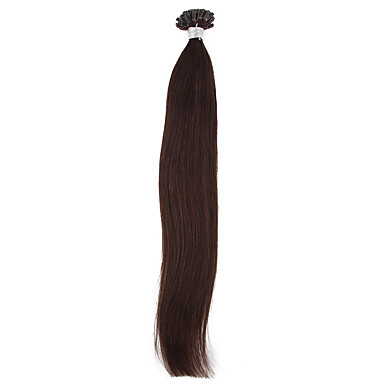 16-24inch Straight Hair  U Tip Keratin Remy Hair Extensions  0.7g/Strand 100Strands 70grams