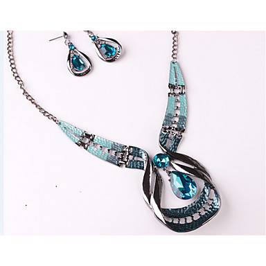Women's Jewelry Set - Unique Design Include Blue For Wedding Party Special Occasion / Anniversary / Birthday