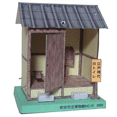 Quebra-Cabeças 3D Artesanato de Papel Brinquedos de Montar Construções Famosas Casa Arquitetura Faça Você Mesmo Clássico Unisexo Dom