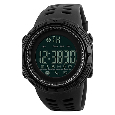 levne Vojenské hodinky-SKMEI Pánské Sportovní hodinky Vojenské hodinky Náramkové hodinky japonština Digitální Z umělé kůže Černá 50 m Voděodolné Alarm Kalendář Digitální Módní - Černá Zlatohnědá Zlatá / Červená Dva roky