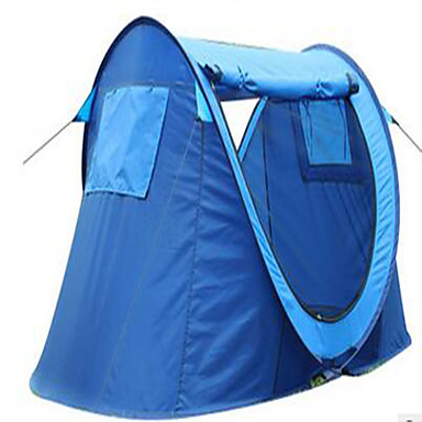 3-4 persons Tent Camping Tent Pop up tent Keep Warm Dust Proof for Camping / Hiking Other Material CM