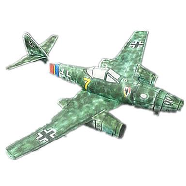 3D-puslespill Papirmodell Modellsett Faiter Hardt Kortpapir Barne Gutt Unisex Gave