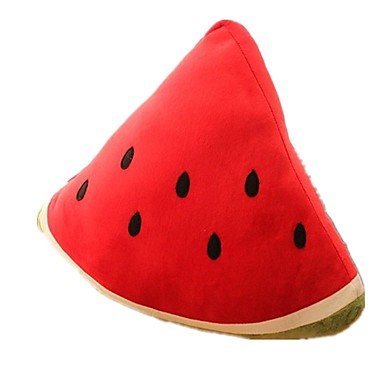 Fruit / Watermelon Pillow / Stuffed Animal Plush Toy Fun / Simulation / Large Size Classical / Classic Cotton Unisex Gift