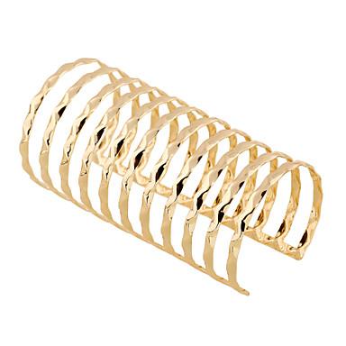 Women's Bangles Cuff Bracelet Punk Rock Fashion Bohemian Metal Alloy Geometric Jewelry For Party Casual/Daily Club Date Street
