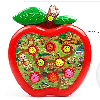 Gopher Game Brinquedos Apple Tamanho Grande Diversão Plásticos Madeira Crianças Para Meninos Peças