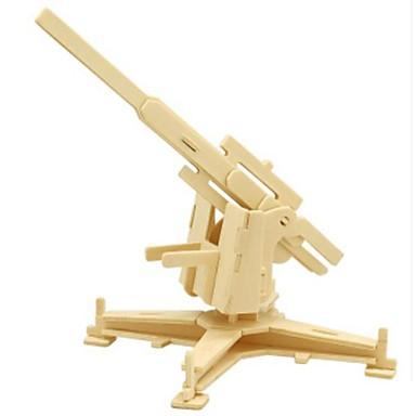 3D-puslespill Puslespill Tremodeller Stridsvogn GDS Tre Naturlig Tre Barne Unisex Gave