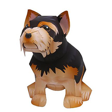 voordelige 3D-puzzels-3D-puzzels Bouwplaat Honden Dieren DHZ Hard Kaart Paper Kinderen Unisex Speeltjes Geschenk