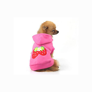 Dog Hoodie Sweatshirt Dog Clothes Casual/Daily Fruit Costume For Pets
