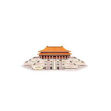 3D-puslespill Puslespill Leketøy Kjent bygning Kinesisk arkitektur Arkitektur 3D Møbler artikler Uspesifisert Deler