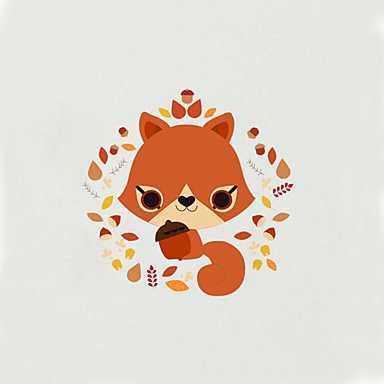 Toilet Stickers - Plane Wall Stickers Animals Fashion Cartoon Living Room Bedroom Bathroom Kitchen Dining Room Study Room / Office Boys