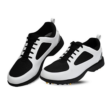 Sapatos para Golf Homens Golf Almofadado Confortável Respirabilidade Esportes Esportes Espetáculo Praticar Esportes Relaxantes Estilo