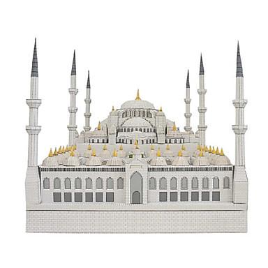 Quebra-Cabeças 3D Maquetes de Papel Construções Famosas Igreja Catedral Faça Você Mesmo Cartão de Papel Duro Crianças Unisexo Dom