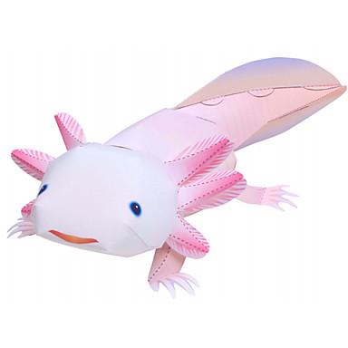 Quebra-Cabeças 3D Maquetes de Papel Artesanato de Papel Brinquedos de Montar Dinossauro Animais Faça Você Mesmo Cartão de Papel Duro