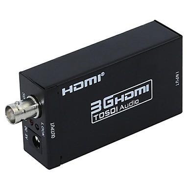 HDMI 1.3 Conversor, HDMI 1.3 to SDI Conversor Fêmea-Fêmea 1080P