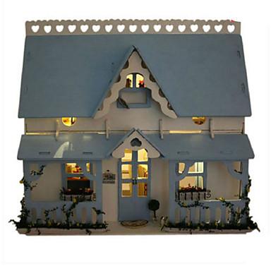 voordelige 3D-puzzels-Modelbouwsets Houten modellen DHZ Huis Kunststoffen Klassiek Kinderen Unisex Speeltjes Geschenk