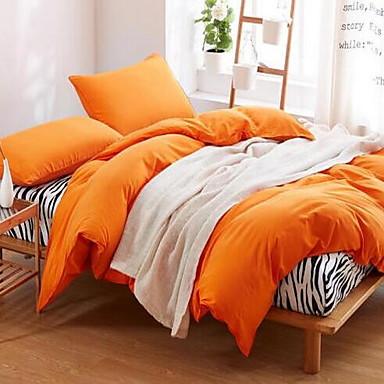 Zebra 4 Piece Cotton Cotton 1pc Duvet Cover 2pcs Shams 1pc Flat Sheet
