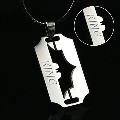 European and American jewelry small bat blade necklace Batman dark knight rise hip hop Pendant Necklace
